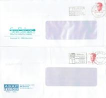 2 Flammes Malines Mechelen (Aangenaam Winkelen Et Wonen '87) Sur 2 Lettres De 1987 - 2000-...