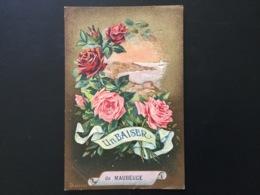 CPA Un Baiser De Maubeuge 1925 - Greetings From...