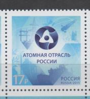 RUSSIA, 2015, MNH,NUCLEAR ENERGY, SHIPS,  1v - Stamps