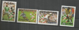 GUYANA COPA MUNDIAL DE FUTBOL ITALIA 90 FIA WORLD CUP FOOTBALL - Copa Mundial