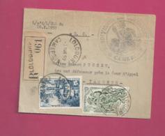 Lettre Recommandée Locale De 1959 - YT N° 291 Et 303 - FIDES - Cameroun (1915-1959)
