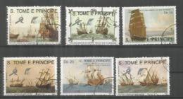 SAO TOME E PRINCIPE BARCOS SHIP SAIL VELERO - Infancia & Juventud