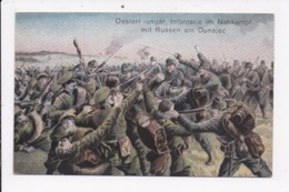 CP UKRAINE ILLUSTRATION Oesterr Ungar Infanterie Im Nahkampf Mit Russen Am Dunajec - Ukraine