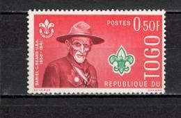 TOGO N° 334  NEUF SANS CHARNIERE COTE  0.25€  SCOUT  SCOUTISME - Togo (1960-...)