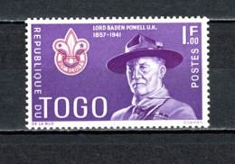 TOGO N° 335  NEUF SANS CHARNIERE COTE  0.25€  SCOUT  SCOUTISME - Togo (1960-...)