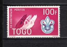 TOGO N° 339  NEUF SANS CHARNIERE COTE  2.80€  SCOUT  SCOUTISME - Togo (1960-...)