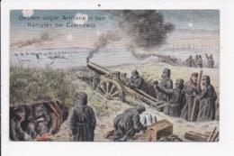 CP UKRAINE ILLUSTRATION Oesterr Ungar Artillerie In Den Kämpten Bei Czernowitz - Ukraine