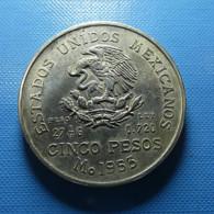 Mexico 5 Pesos 1953 Silver - Mexico
