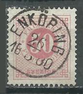 Suède YT N°24A (Dentelé 13) Oblitéré ° - Oblitérés