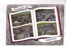 CPM DPT 57 SOUVENIR DE SARREBOURG MULTIVUES En 1964! - Sarrebourg
