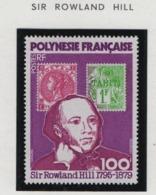 W30 Polynésie °° 1979 141 Rowland  Hill - Polynésie Française