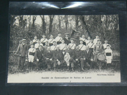 LAVAL  &  SALINS     1910 /   VUE  SOCIETE GYMNASTIQUE ....  EDITEUR - Laval