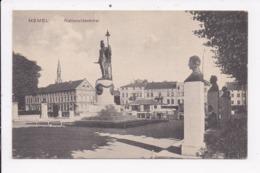 CP LITUANIE MEMEL Nationaldenkmal - Lituanie