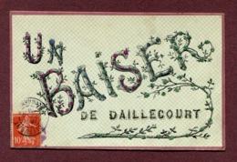 """DAILLECOURT  (52) : """" UN BAISER """" - Autres Communes"""
