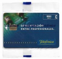 Spain - Telefónica - Comunicación Entre Profesionales - P-418 - 12.1999, 500PTA, 8.500ex, NSB - España