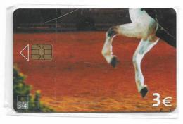 Spain - Telefónica - Horse Puzzle 3/4 - P-552 - 09.2004, 4.000ex, NSB - España