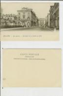Bruxelles: Rue Ducale - Ministère De La Justice Au Fond. Carte Postale Cm 9x14 (début 1900). - Avenues, Boulevards