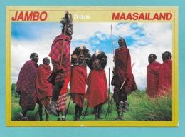 KENYA MAASAI WARRIORS 1999 - Kenia
