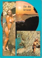Ile Du Levant Femmes Nues Souvenir - France