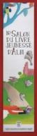 #75#   ALBI 16ème SALON DU LIVRE JEUNESSE - MARQUE PAGE - Marque-Pages