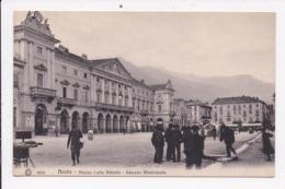 CP ITALIE AOSTA Piazza Carlo Alberto - Altre Città