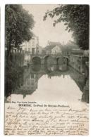 Dixmude / Diksmuide - Le Pont De Breyne-Peellaert - Circulée - Edit. Eug. Van Cuyck  - 2 Scans - Diksmuide