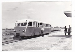 CPM VOIR DOS 80 Train Autorail De Dion OC 1 M21 à St Valéry Canal En 1955 - Saint Valery Sur Somme