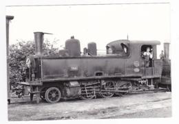 CPM VOIR DOS 80 Train Locomotive Vapeur 130 T 3661 Et Son Mécanicien à St Valéry Canal En 1955 - Saint Valery Sur Somme