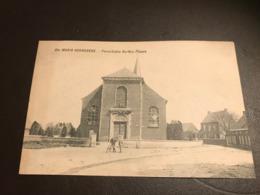 Sainte-Maria-Hoorebeke  -Horebeke - PAROCHIALE KERK EN PLAATS  Ed. De Clippele-Van Wymeersch - Horebeke
