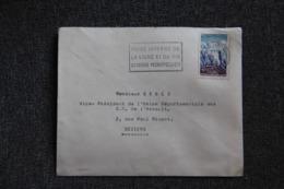 Timbre Sur Lettre - De MONTPELLIER à BEZIERS , 1965 - France
