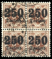 1920, Altdeutschland Württemberg, 178 (4), Gest. - Wuerttemberg