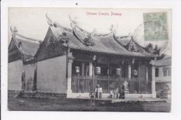 CP MALAYSIA Chinese Temple PENANG - Malaysia