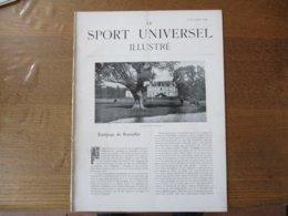 LE SPORT UNIVERSEL ILLUSTRE DU 15 NOVEMBRE 1895 EQUIPAGE DE BONNELLES,LE ROI DE PORTUGAL A DAMPIERRE,E.PRICE,HARAS DU B - Livres, BD, Revues
