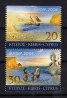 CHYPRE Cyprus 2004 Europa Yv 1043a/1044a MNH ** - 2004