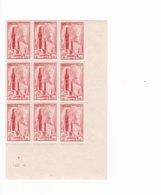 9 Timbres  N° 667  ++ Cathédrale Albi  Année 1944 - France