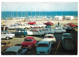 66 Canet-Plage - Le Port De Plaisance Et Le Parking - (Citroen DS, Renault 4L...) - Canet Plage