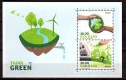 2016 Denmark - Europa CEPT - Living Green - MS - MNH** MiNr. 1882 - 1883 (Block 63) - Tschechische Republik