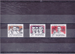 ALBANIE 1971 RACISME Yvert 1295-1297 NEUF** MNH - Albania