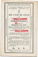 Bidprentje Isabella Verwulgen Moerbeke Waas En Aldaar Overleden 1846 63 Jaar Oud Van Hove Dominicus - Images Religieuses