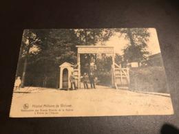 WOLUWE - Hôpital Militaire De Woluwé - Rééducation Des Grands Blessés De Guerre - Entree - Armee Belge Stamp - Woluwe-St-Pierre - St-Pieters-Woluwe