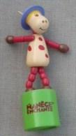 Wakouwa AZALÉE Manège Enchanté TV ORTF Hauteur 10 Centimètres Année 2005 - Figurines