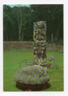 Honduras: Estela Maya, Mayan Totem Pole, Copan (19-1732) - Honduras