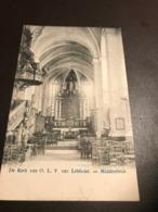 Lebbeke - De Kerk Van O.L.V. Van Lebbeke. - Middenbeuk - Lebbeke