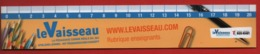#76#   LE VAISSEAU CENTRE DE SCIENCES ET TECHNIQUES STRASBOURG - MARQUE PAGE PLASTIFIE - Marque-Pages