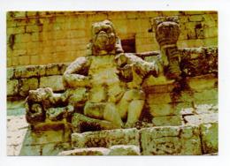 Honduras: Dios IK, Escultura Del Templo 11, Ruinas De Copan (19-1733) - Honduras