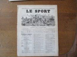 LE SPORT DU 21 JUIN 1890 AU CIRQUE MOLIER,REPETITION ET REPRESENTATION,LA VIE A PARIS,YACHTING-GAZETTE,16 PAGES - Sports