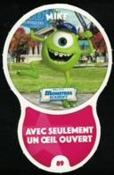 Carte à Collectionner Auchan Les Défis Effet Mike Monstres Academy 89 / 96 - Autres Collections