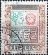 REPUBBLICA 2002 - ALTI VALORI, SIRACUSANA O TURRITA - 1 VALORE USATO - 6. 1946-.. Repubblica