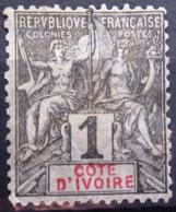 COTE D'IVOIRE                   N° 1                     NEUF SANS GOMME - Unused Stamps