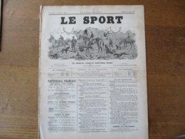 LE SPORT DU 14 JUIN 1890 AUTEUIL,PARIS 12 JUIN 1890,LE GRAND STEEPLE CHASE DE PARIS 1890,LES COURSES DE CHEVAUX EN FRANC - Sports